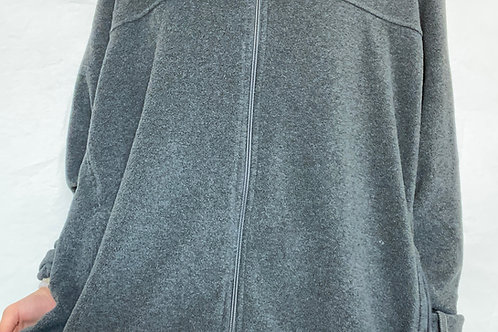 Gray Columbia Fleece Zip Up
