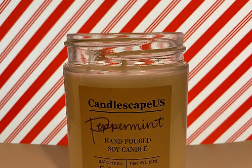 Peppermint Soy Candle