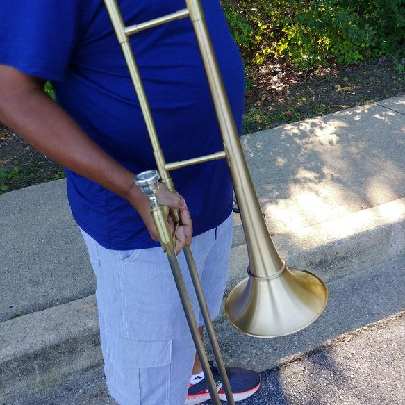 """The"" Mike Weber on Trombone"