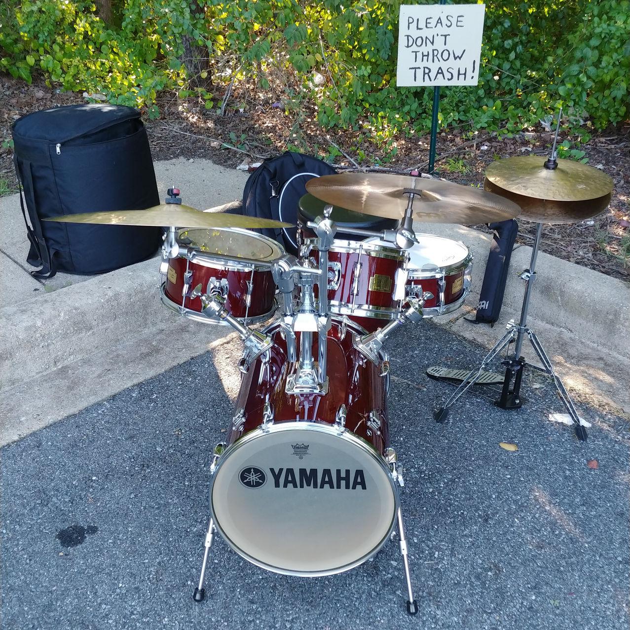 Wil on Drums