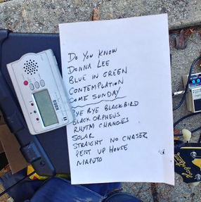 COVID Set List