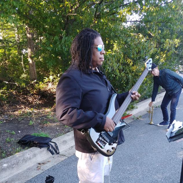 Eric on Bass