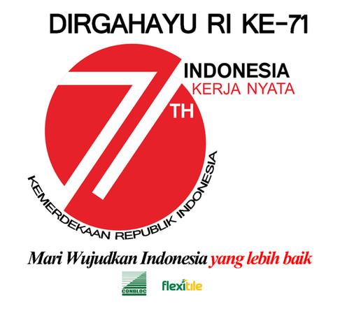 Dirgahayu Indonesia yang Ke-71
