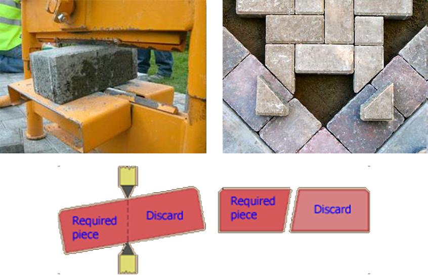 tata cara pemotongan paving block yang tepat