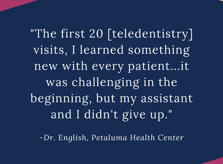 Learning how to use teledentistry to deliver safe and effective patient-centered care