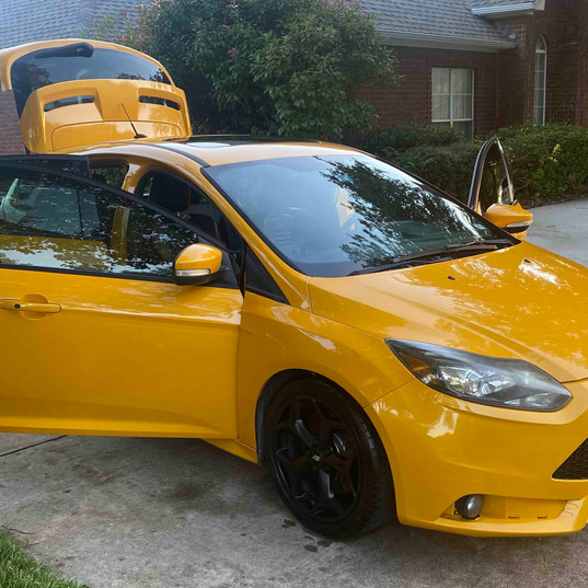 Ford Focus ST Detail