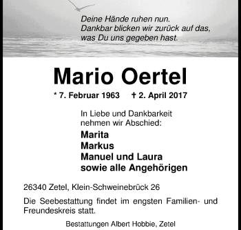 Mario Oertel