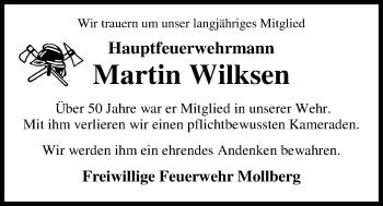 Martin Wilksen