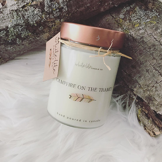 Campfire on the Thames - Candle