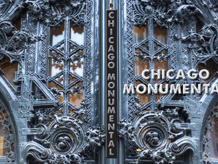 """Chicago Monumental"" Wins Book Cover Contest"