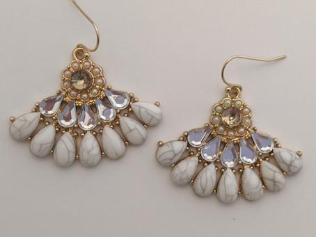 Showcasing Our Baroque/Rococo Earrings