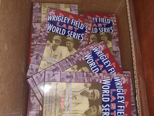 Latest Printing of Wrigley Field's Second-to-Last World Series