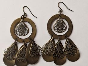 Showcasing Our Boho/Bohemian Earrings