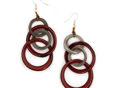 Showcasing Tagua Earrings by Soraya Cedeño / Our March Promotion