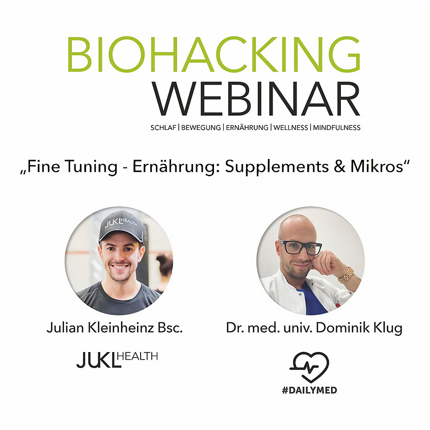 Fine Tuning - Ernährung: Supplements & Mikros