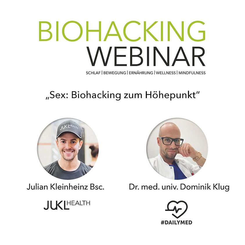 Sex: Biohacking zum Höhepunkt