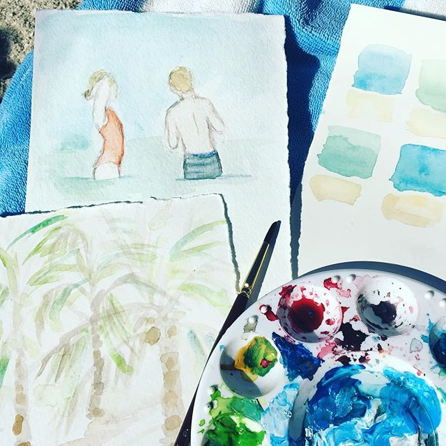 Painting my beach babes #dscolor #creativityfound