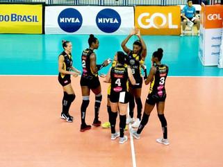 Dentil/Praia Clube vence Sesc RJ Flamengo, fica em 3º, e quartas são definidas
