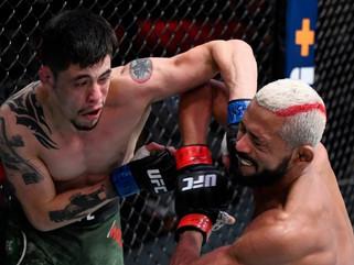 Deiveson Figueiredo empata com Brandon Moreno e defende cinturão no UFC 256