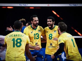 Seleção masculina vence França e está na final da Liga das Nações