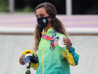 Rayssa Leal vence prêmio dado ao atleta com os melhores valores olímpicos