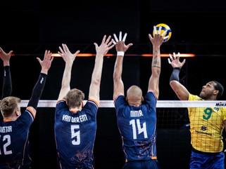 Seleção masculina abre terceira semana com vitória sobre Holanda