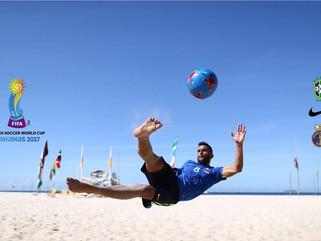 Brasil encara Portugal nas quartas de final da Copa do Mundo de beach soccer
