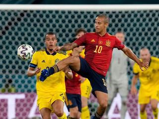 Eurocopa: Espanha e Suécia empatam em 0 a 0