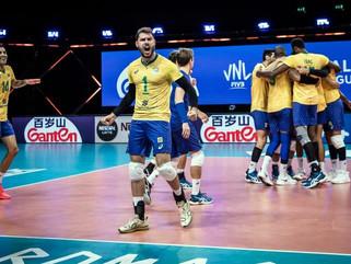 Em jogo disputado, Brasil vence Eslovênia