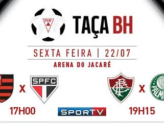 Taça BH terá Semifinais com paulistas e cariocas