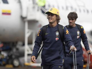 Seleção Olímpica desembarca na Colômbia para o Torneio Pré-Olímpico