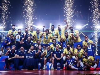 Brasil vence Polônia e é campeão da Liga das Nações