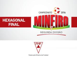 Neste fim de semana começa o hexagonal final da Segundona Mineira