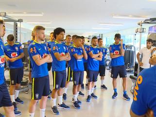 Seleção Brasileira Sub-20 inicia os trabalhos na Granja Comary