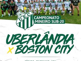 Líder Uberlândia joga contra Boston City pelo Mineiro Sub-20