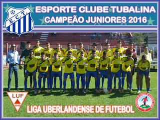 Tubalina é Campeão Juniores de Uberlândia 2016