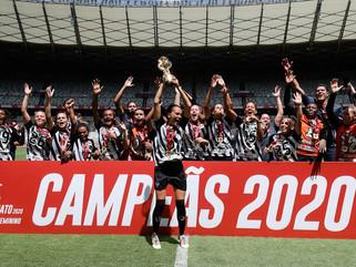 Em final emocionante, Atlético-MG é campeão do Campeonato Mineiro Feminino 2020