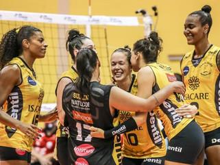 Em jogo emocionante, Dentil/Praia Clube vence Osasco São Cristóvão Saúde