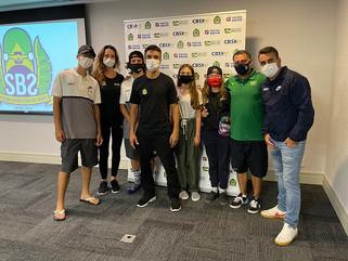 CBSk realiza encontro com a Seleção Brasileira Júnior de Park