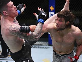 Brasileiro Wellington Turman é nocauteado no UFC Las Vegas 6