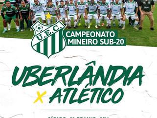 Uberlândia enfrenta Atlético-MG pelo Campeonato Mineiro Sub-20