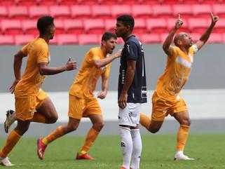 Brasiliense vence de virada Remo na primeira partida da final da Copa Verde