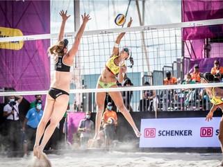 Ágatha e Duda perdem para alemãs e ficam em quinto no World Tour Finals