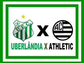 Ingressos para o jogo Uberlândia x Athletic começam a ser vendidos nessa quinta-feira (04)