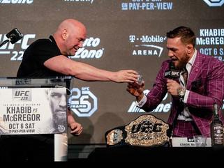 Dana White lamenta promover luta de McGregor sem a presença dos fãs: 'Isso me mata'