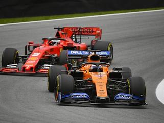 McLaren e Ferrari podem lutar pelo terceiro lugar de construtores da F1