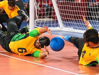 Goalball: seleção masculina bate Lituânia e fará final com China