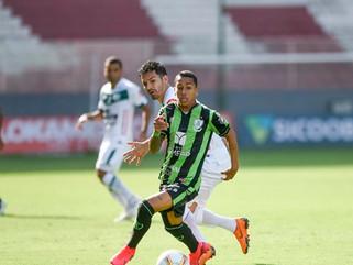 América-MG vence Uberlândia em Belo Horizonte