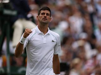 Novak Djokovic derrota Cristian Garín e chega às quartas de Wimbledon
