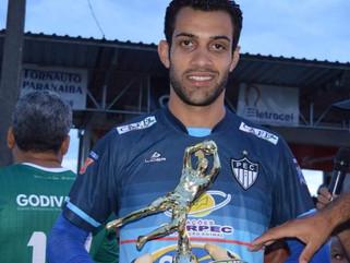 Jonatas foi eleito o melhor goleiro e menos vazado do Campeonato Regional da Liga Patense 2016